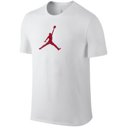 T-Shirt nera o  bianca unisex MICHAEL JORDAN BASKETBALL - The Bulls NBA maglia